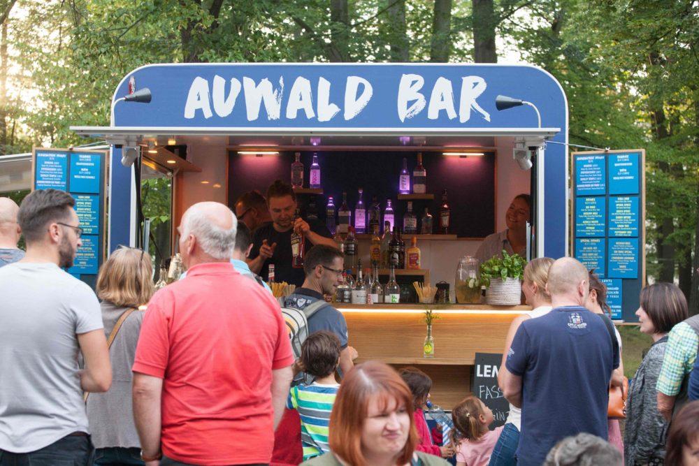 Auwald Bar, Mobile Bar, Catering, Cocktails, Leipzig, Dresden, Görlitz, Weimar